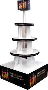 Liquor Display Shelves by Floor Displays U2014 Creative Hands Design Technologies
