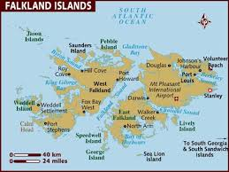map of the islands map of falkland islands