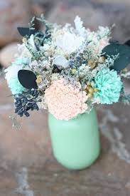 Cheap Easy Wedding Centerpieces by Best 25 Mint Wedding Centerpieces Ideas Only On Pinterest