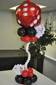 theme centerpiece gorgeous balloon themed centerpiece see more http www