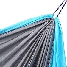 double camping hammock arctic monsoon 210t parachute portable nylon