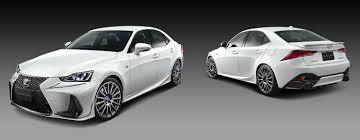 lexus sports car white lexus trd is f sport parts