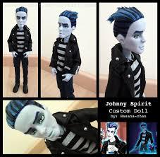 monster high doll halloween johnny spirit custom doll dolls pinterest custom dolls