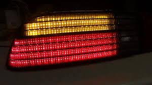how to make custom led tail lights led fiero tail lights youtube