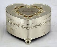 Crystal Keepsake Box Crystal Heart Shaped Jewelry Box Ebay