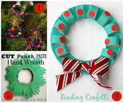 7 wreath crafts for kids plus the kids weekly co op link party
