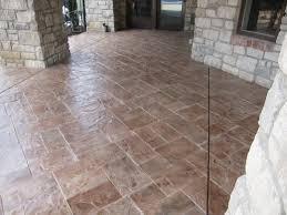 Stamped Concrete Patio Maintenance Stamped Concrete Patio Photos Concrete Stamping St Louis