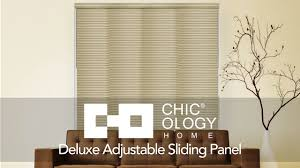 chicology home deluxe adjustable sliding panels youtube