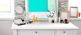 Turquoise Vanity Table 21 Makeup Vanity Table Designs