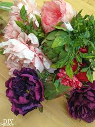 diy floral arranging diy show off diy decorating and home