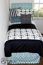 Fish Themed Comforters Best 25 Anchor Bedding Ideas On Pinterest Nautical Bed Beach