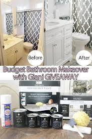 Budget Bathroom Makeover Budget Bathroom Makeover With Giani Giveaway