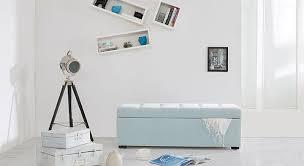 Upholstered Storage Bench Buy Carson Upholstered Storage Bench Bench Inkgrid