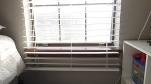 Shortening Faux Wood Blinds The Ambitious Procrastinator How To Shorten Faux Wood Blinds