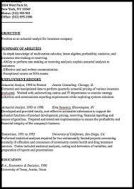 sample actuary resume resume resume example actuarial resume