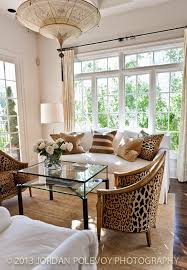 Leopard Chairs Living Room Not A Big Fan Of Leopard But Like The Design And Big Windows