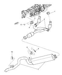 2002 jeep liberty parts exhaust system for 2002 jeep liberty mopar parts