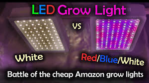 red and white led emergency lights white led vs red blue white led grow test amazon lights intro