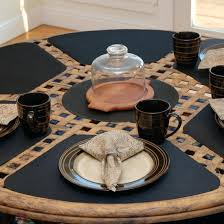 outdoor placemats for round table placemats for round tables outdoor uk quilted jeanbolen info