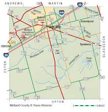 midland map midland county the handbook of state
