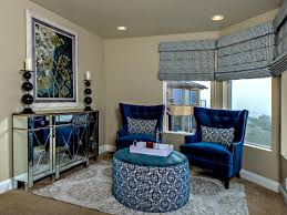 Living Room Sitting Chairs Design Ideas Blue Velvet Tufted Sofa Master Bedroom With Wood Bed Master