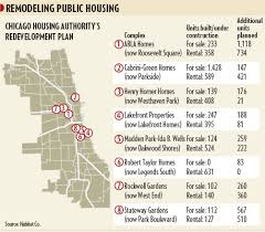 chicago housing projects map when from the housing projects got get moved out chicago