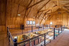 pole barn homes interior affordable wooden materials dominated of the pole barn interior