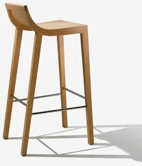 Backless Counter Stool Leather Kitchen Casual Decors For Kitchen With Wooden Bar Stools With