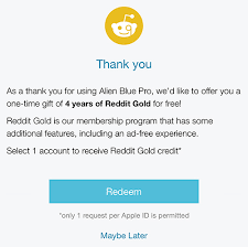 reddit black friday deals amazon latest alien blue update gifts pro users with four years of reddit