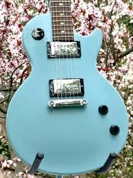 light blue gibson les paul just guitars australia gibson les paul vixen 2006 brand new