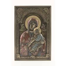 garden plaques outdoor garden decor wall plaques murals the catholic company