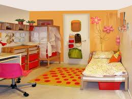 kids room two blue beds blue rug guitar in modern shared kids