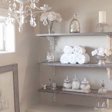 diy bathroom shelving tutorial master bathrooms shelving and