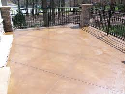 Stain Concrete Patio by Stained Concrete Patio Diy U2014 All Home Design Ideas Removing