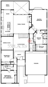 Belmonte Builders Floor Plans Valley Oak Floorplan 2535 Sq Ft Rossmoor 55places Com