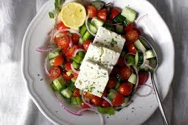 greek salad with lemon and oregano u2013 smitten kitchen