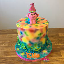 trolls kids birthday cake alexa u0027s birthday pinterest