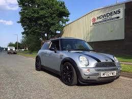 2002 mini cooper silver air con sun roof in knutsford