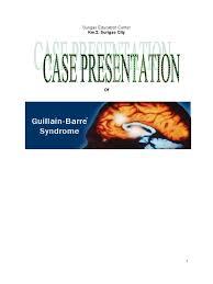 guillain barre syndrome case study group autonomic nervous