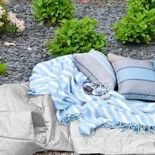 plaid turquoise pour canapé plaid souple doux pour canapé made in luxe pas cher