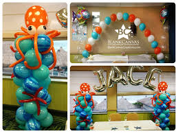Under The Sea Centerpieces by Balloon Arch Decorations For Baby Shower Baby Shower Decoration