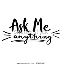 Sho Ayting lettering ask me anything stock vector 2018 701330167