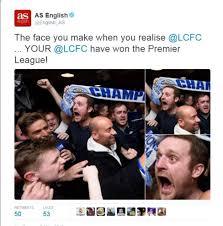 English Premier League Memes - memes leicester light up the internet as com