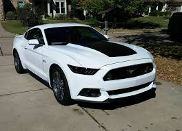 Mustang 2015 Black American Muscle Graphics Mustang Matte Black Hood Decal 387499 15
