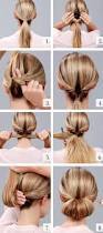 Easy Dressy Hairstyles For Long Hair by Best 20 Easy Wedding Updo Ideas On Pinterest Easy Low Bun Easy