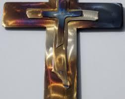 metal crosses metal wall crosses etsy