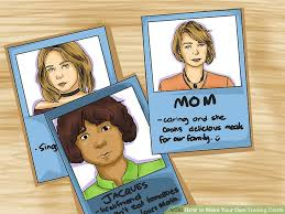 3 ways to make your own trading cards wikihow