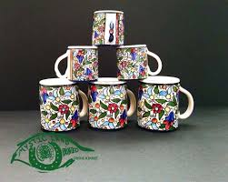 set of 6 small coffee mugs for turkish arabic coffee u0026 larger