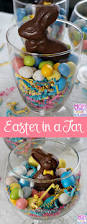 easy edible easter decorations to make easter candy jars