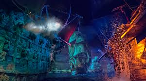 pirates of the caribbean battle for the sunken treasure at